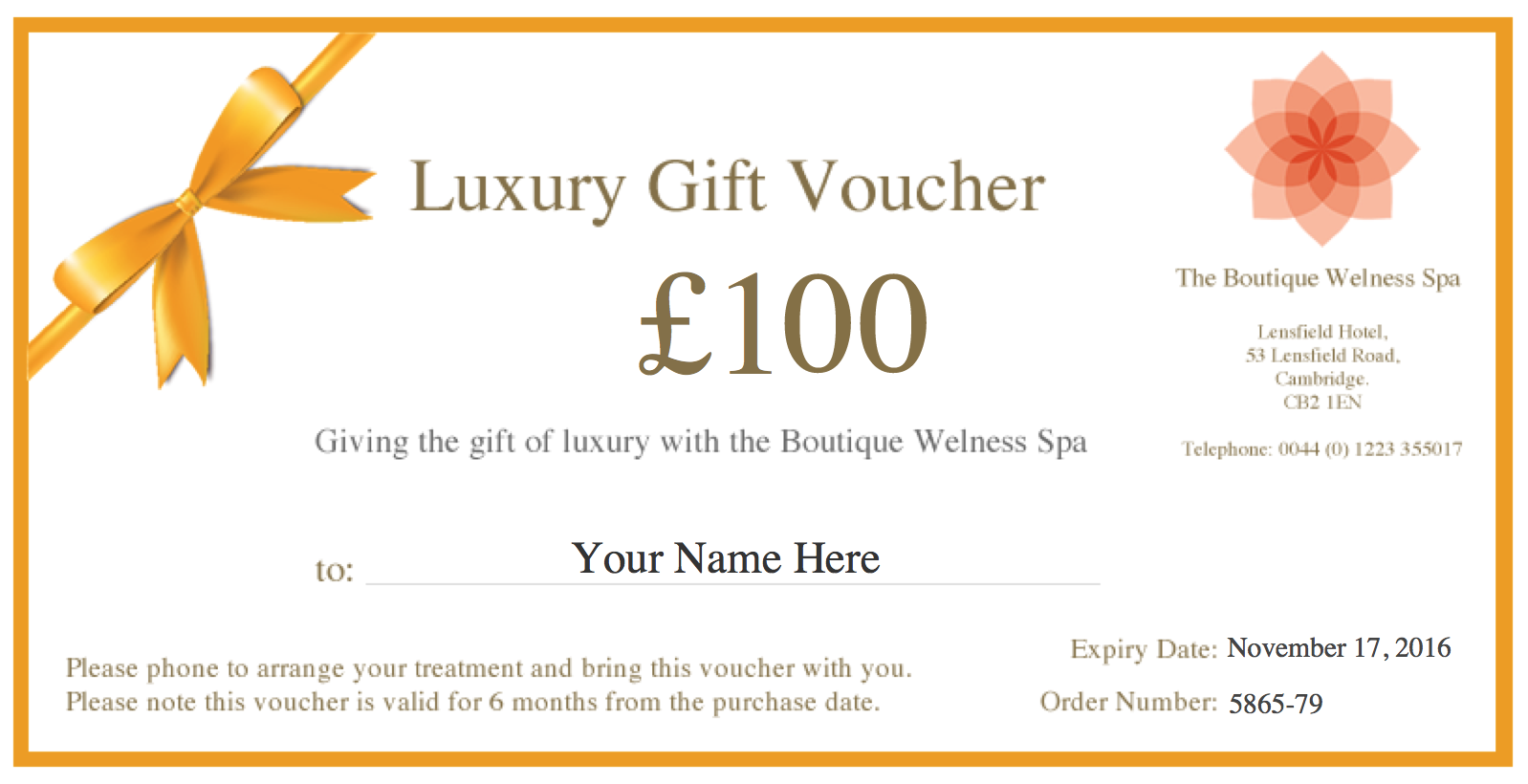 Hotel Break Gift Vouchers Uk